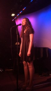 "Madison Gulfo sings ""Corner Of The Sky"" at NYC's Metropolitan Room 2015"